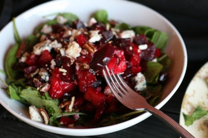 Beet Watermelon Salad