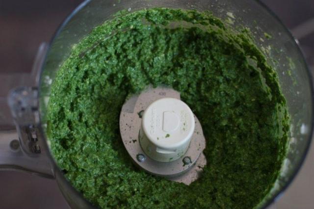 Blended Pesto