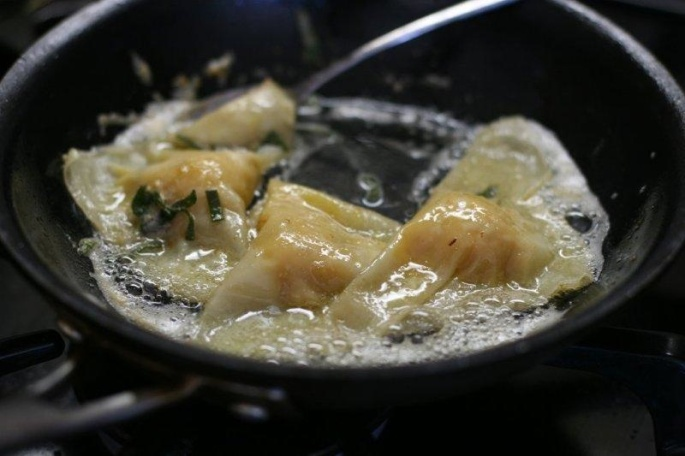 Frying Ravioli