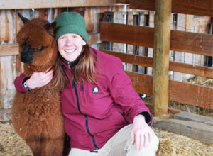 Amy and the Alpaca