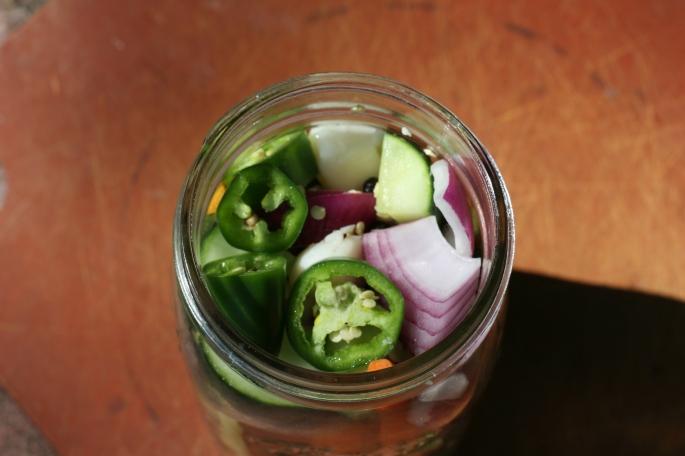 packed in jar