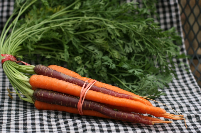 red wagon carrots