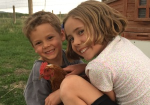 Kids and Chicken
