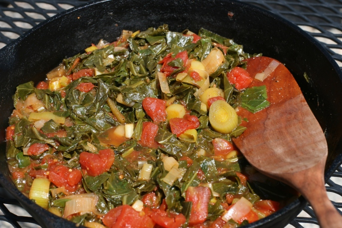 Saute with Tomatoes
