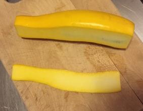 Zucchini Edge Slice