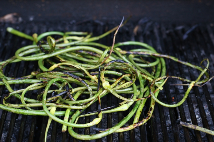 Grilled Scapes