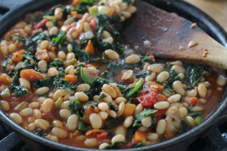 Pizza Beans From Smitten Kitchen Red Wagon Farm